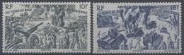 France, A.E.F Afrique Equatoriale Française : Poste Aérienne N° 45 Et 46 X Neuf Avec Trace De Charnière Année 1946 - A.E.F. (1936-1958)