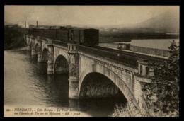 64 - Hendaye Coté Basque Pont International Train Chemein De Fer Bidassoa #00928 - Hendaye