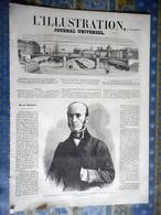 L' ILLUSTRATION 02/11/1861 ROI DE PRUSSE KOENIGSBERG DANTZIG MONTENEGRO FORT KLOBUCK LALLE BESSEGES MINES CIVITA VECCHIA - Periódicos