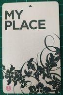 Langham Place Hotel Hong Kong  Keycard - Hotelsleutels (kaarten)