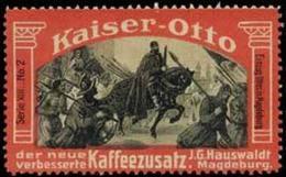 Magdeburg: Einzug Ottos In Magdeburg Reklamemarke - Cinderellas