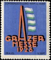 Graz: Grazer Messe Reklamemarke - Cinderellas