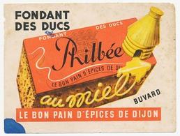 Buvard 15.4 X 11.7 Pain D'épices De Dijon PHILBEE   Au Miel  Ruche - Pain D'épices