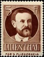 Otto Lilienthal Reklamemarke - Erinofilia