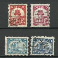 Estland Estonia 1932 University Dorpat Tartu Michel 94 - 97 O - Estland
