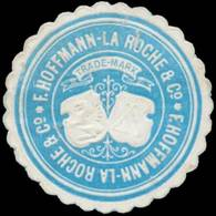 F. Hoffmann La Roche & Cie. Reklamemarke - Cinderellas