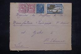 NOUVELLE CALÉDONIE - Enveloppe De Nouméa Pour St Etienne En 1929 , Affranchissement Plaisant - L 26748 - Briefe U. Dokumente