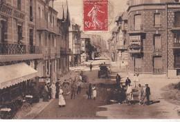 80 / MERS SUR MERS / L AVENUE DE LA GARE / JOLIE CARTE LL - Mers Les Bains