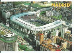 "ESTADIO - STADIUM - STADE - STADION .-  "" SANTIAGO BERNABEU "" MADRID "" ( ESPAÑA ) - Fútbol"