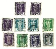 India - Servizio - Lotto - Francobolli Di Servizio