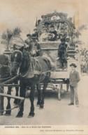 I100 - 38 - GRENOBLE - Isère - Carnaval - 1904 - Char De La Reine Des Gantières - Grenoble