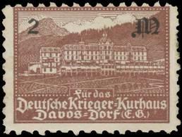 Davos/Schweiz: Deutsche Krieger-Kurhaus Reklamemarke - Cinderellas