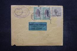 CONGO BELGE - Affranchissement De Elisabethville Pour St Etienne En 1923 , Affranchissement Plaisant - L 26753 - Congo Belge