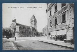 SAINT GAUDENS - La Place Nationale Et L' Eglise - Saint Gaudens