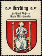 Bremen: Greding Reklamemarke - Erinofilia