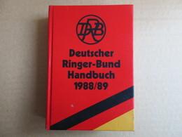 Deutscher Ringer-Bund Handbuch 1988/89 - Livres, BD, Revues