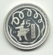 2008 - San Marino 5 Euro Pechino - Senza Confezione - San Marino
