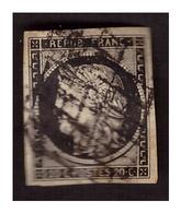 Timbre N° 3 Obl. - 1849-1850 Cérès