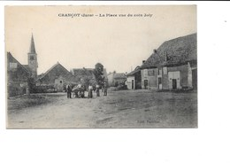 CRANCOT. - La Place Vue Du Coin Joly. - France