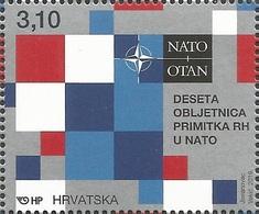 HR 2019-1371 NATO,. HRVATSKA CROATIA, 1 X 1v. MNH - NATO
