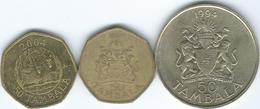 Malawi - 50 Tambala - 1994 (KM19) 1996 (KM30) 2004 (KM66) - Malawi