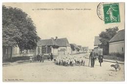 CPA 28 LE TREMBLAY LE VICOMTE Troupeau Allant Au Pâturage - France