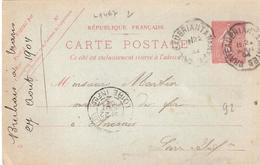 Convoyeur Ligne Type II :- CHATEAUBRIANT A NANTES - Railway Post