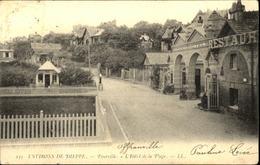 76  Environs De DIEPPE  POURVILLE  L' Hotel De La Plage - Dieppe