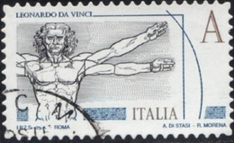 Italia 2015 Leonardesca Tariffa A - 1946-.. République