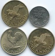 Malawi - Kwacha - 1992 (KM20) 1996 (KM28) 2004 (KM65) & 2012 (KM212) - Malawi