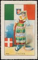 Italien Reklamemarke - Cinderellas