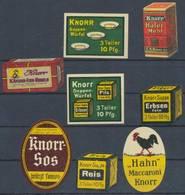 Heilbronn: Knorr Suppen Makkaroni Suppenwürfel Sammlung - Cinderellas