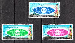 Filippine  Philippines  - 1970. Congresso Sul Benessere Sociale. Social Welfare. Complete MNH Series - Timbres