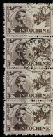 Bande De 4 Du TP N° 262 - Indochina (1889-1945)