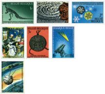 Ref. 85592 * NEW *  - BELGIUM . 1966. NATIONAL SCIENTIFIC HERITAGE. PATRIMONIO CIENTIFICO NACIONAL - Bélgica
