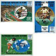 Ref. 27448 * NEW *  - BENIN . 1978. FOOTBALL WORLD CUP. ARGENTINA-78. COPA DEL MUNDO DE FUTBOL. ARGENTINA-78 - Benin – Dahomey (1960-...)