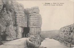 RUOMS Route De Joyeuse L Entrée Du Tunel - Ruoms