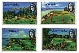 Ref. 81317 * NEW *  - BERMUDAS . 1971. BERMUDA GOLF COURSES. CAMPOS DE GOLF DE LAS BERMUDAS - Bermudas