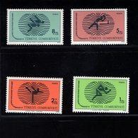 744312668 POSTFRIS  MINT NEVER HINGED EINWANDFREI SCOTT B160 B161 B162 B163 GYMNASIADE 78 WORLD SCHOOL GAMES IZMIR - Hongrie