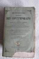 Dictionnaire Universel Des Contemporains Contenant Toutes Les Personnes Notables De France Et Des Pays Etrangers 1858 - Dictionnaires