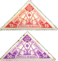 Ref. 598458 * HINGED *  - BOLIVIA . 1931. ANNIVERSARY OF THE REVOLUTION. ANIVERSARIO DE LA REVOLUCION - Bolivia