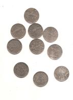 10 Pieces De 2 Francs Semeuse Voir Detail En Dessous - France