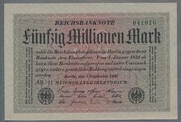 Pick109 Ro108c DEU-122c. 50 Million Mark 1923 NEUF UNC - [ 3] 1918-1933 : Repubblica  Di Weimar