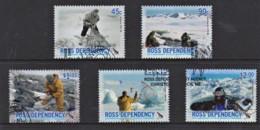 Ross Dependency 2006 NZ Antarctic Program Anniversary Set Of 5 Used - Ross Dependency (New Zealand)