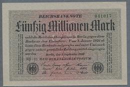 Pick109 Ro108c 50 Million Mark 1923 NEUF UNC - [ 3] 1918-1933: Weimarrepubliek