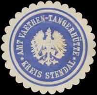 Väthen: Am Väthen-Tangerhütte Landkreis Stendal Siegelmarke - Cinderellas