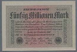 Pick109 Ro108c DEU-122c  50 Million Mark 1923 NEUF UNC - [ 3] 1918-1933 : Repubblica  Di Weimar