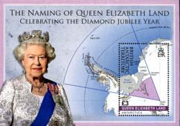 Ref. 300822 * NEW *  - BRITISH ANTARCTIC TERRITORY . 2012. QUEEN ELIZABETH II. REINA ISABEL II - Nuevos
