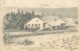 VERRIERES - Chalet Des IV Cheminées.(carte Illustrée Par M Delau). - NE Neuchâtel