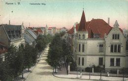 HAMM In Westfalen, Caldenhofer Weg (1908) AK - Hamm
